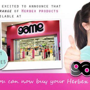 Game stores stocking Herbex