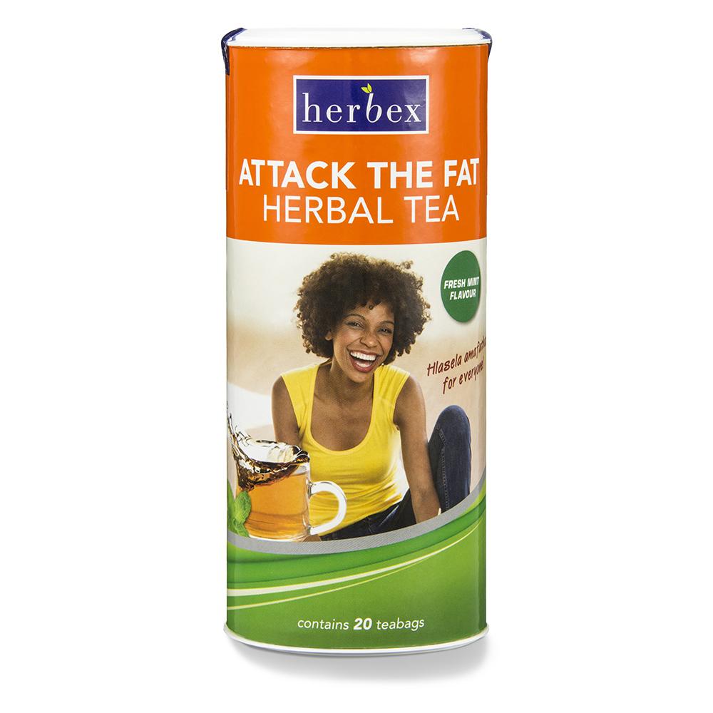 Attack The Fat Tea Fresh Mint – 20s