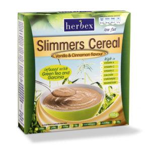 Slimmers Cereal (Vanilla & Cinnamon) – 450g