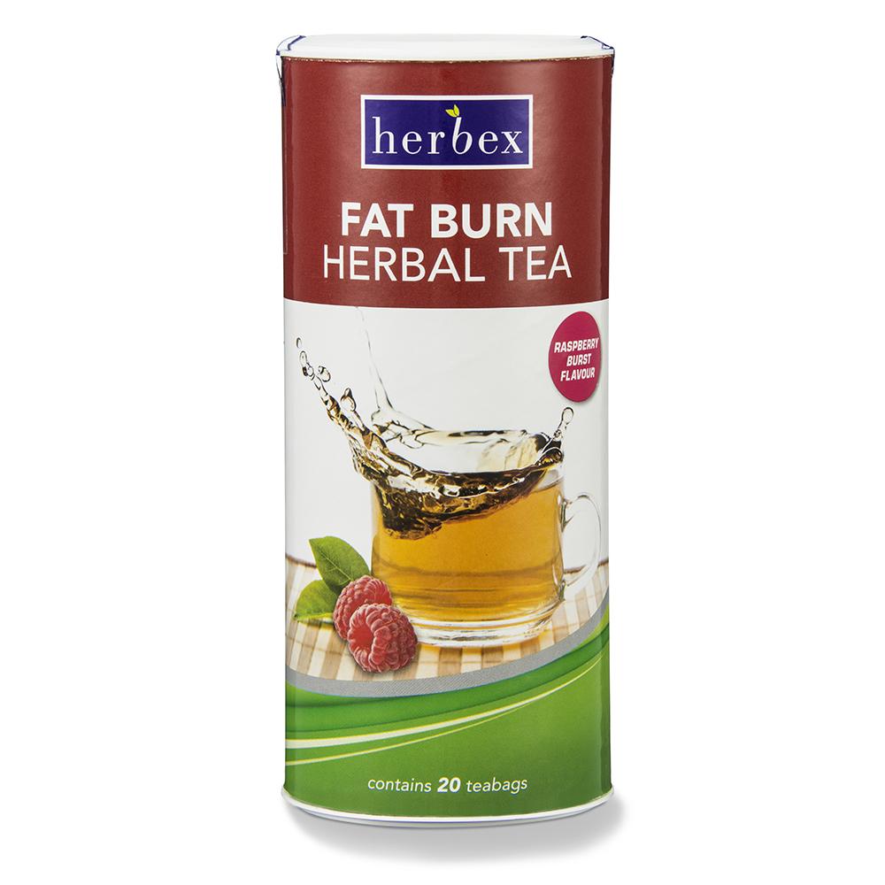 Fat Burn Tea Raspberry Burst -20s