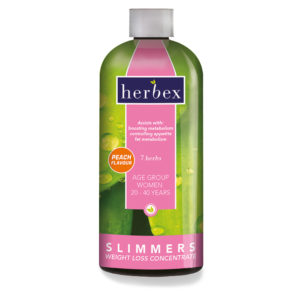 Slimmers Women 20-40 Concentrate – Peach 400ml