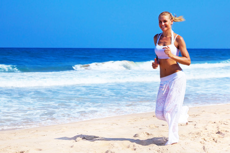Our top 5 beach exercises