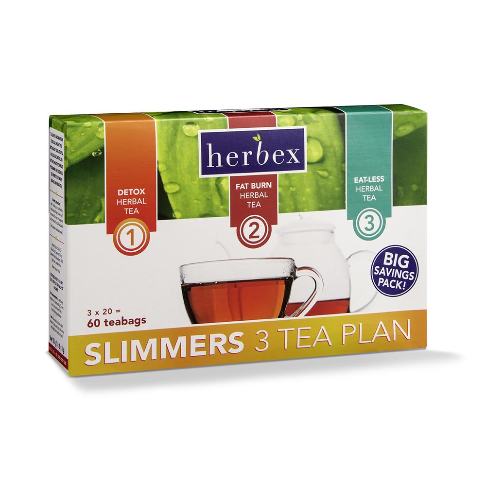 Slimmers 3 Tea Plan